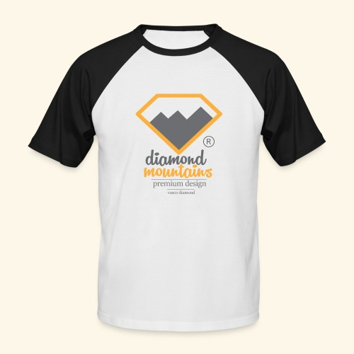 Diamond - Koszulka bejsbolowa męska