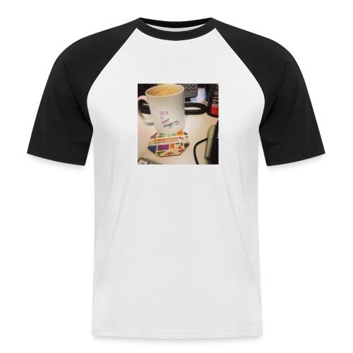 Queen of Shopping Muggins - Men's Baseball T-Shirt