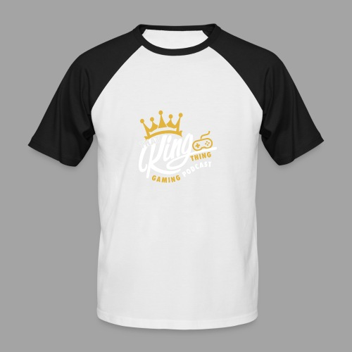 That King Thing Logo - Men's Baseball T-Shirt