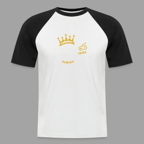 That King Thing Logo - Men's Baseball T-Shirt