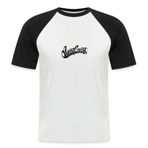 wcc logo black and white - Maglia da baseball a manica corta da uomo