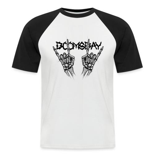 Doomsday logo - Kortärmad basebolltröja herr
