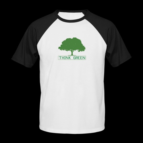 think green - Camiseta béisbol manga corta hombre