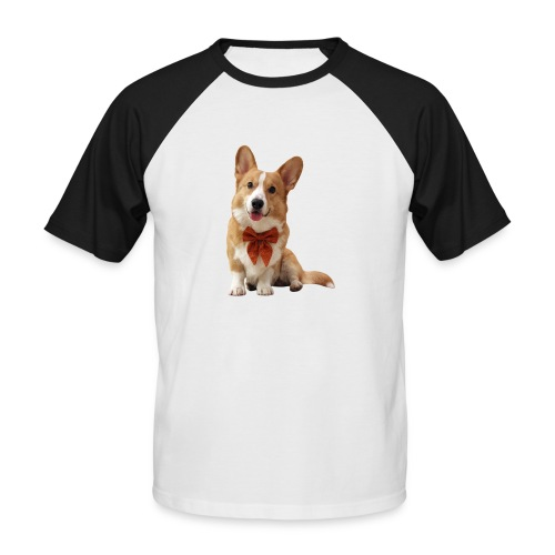 Bowtie Topi - Men's Baseball T-Shirt