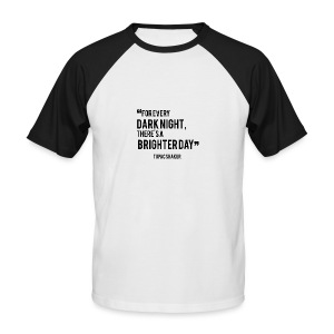 Mental Health Quote 2 - Men's Baseball T-Shirt