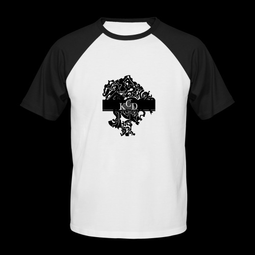 KCD Small Print - Men's Baseball T-Shirt