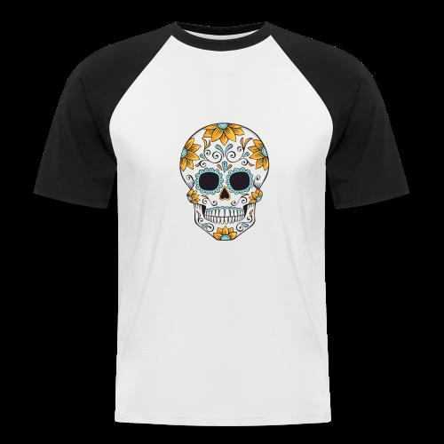 SUGAR SKULL 03 - Men's Baseball T-Shirt