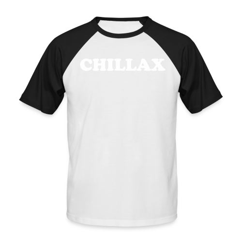 chill Collection - Kortermet baseball skjorte for menn