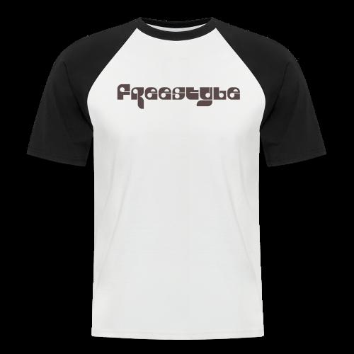 Freestyle Collection - Kortermet baseball skjorte for menn
