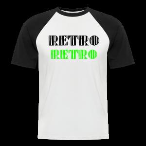 Retro Collections - Kortermet baseball skjorte for menn