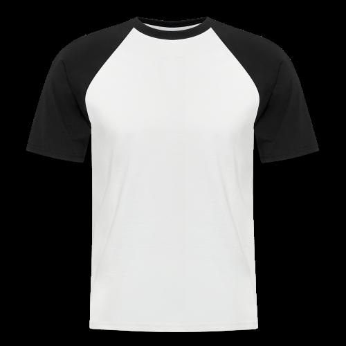 Farfar Collection - Kortermet baseball skjorte for menn