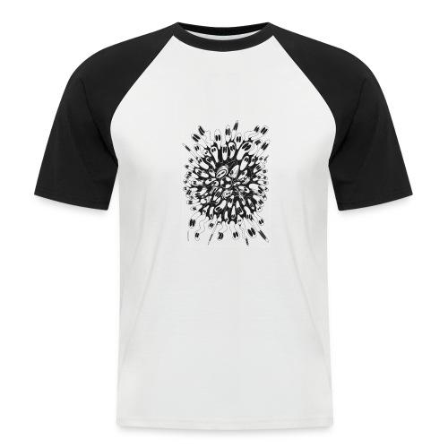 Nucléaire - T-shirt baseball manches courtes Homme