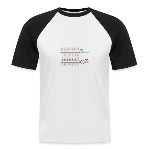 manifold intelligent - Men's Baseball T-Shirt