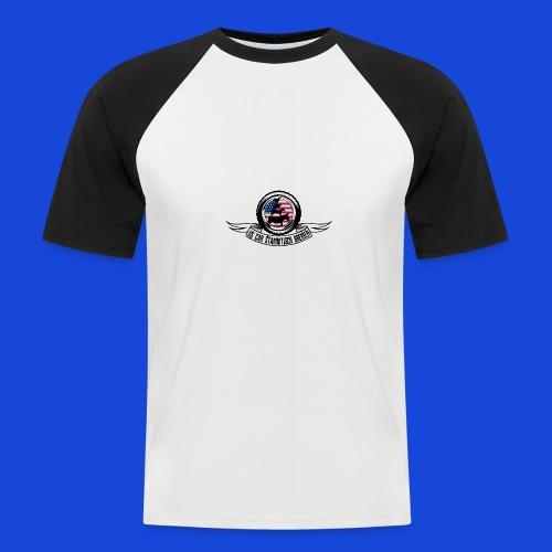 Logo Shirt - Männer Baseball-T-Shirt