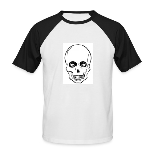 GO TIC PEACE - T-shirt baseball manches courtes Homme