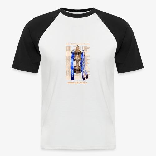 Montrose League Cup Tour - Men's Baseball T-Shirt