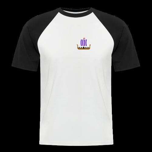 Viking Collection - Kortermet baseball skjorte for menn