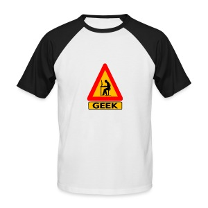 geek_warning - T-shirt baseball manches courtes Homme