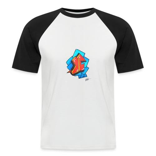 T1 - Mannen baseballshirt korte mouw