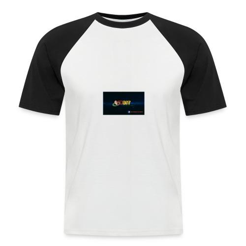 OhrBit Logo - Männer Baseball-T-Shirt