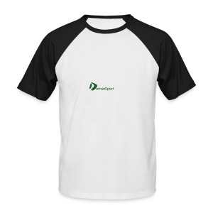 Logo DomesSport Green noBg - Männer Baseball-T-Shirt
