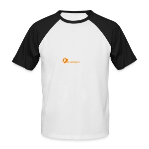 Logo DomesSport Orange noBg - Männer Baseball-T-Shirt