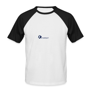 Logo DomesSport Blue noBg - Männer Baseball-T-Shirt