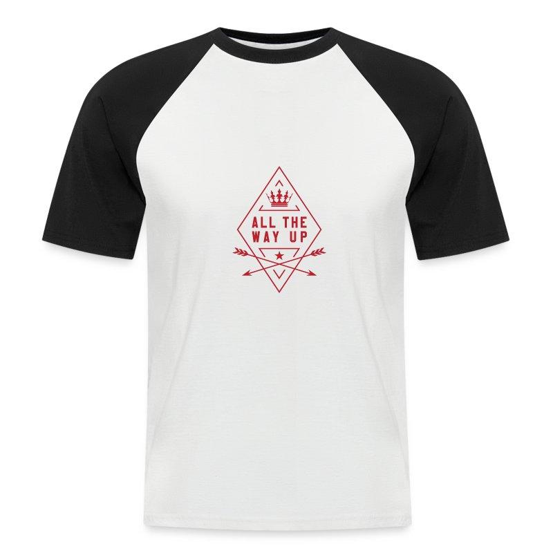 atwu_red - Men's Baseball T-Shirt