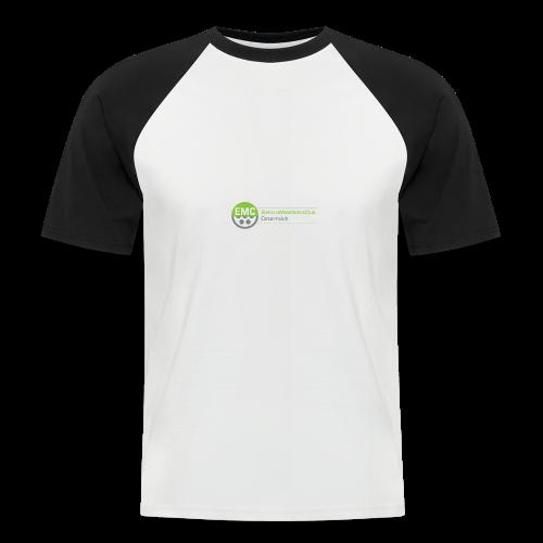 ElektroMobilitätsClub Logo - Männer Baseball-T-Shirt