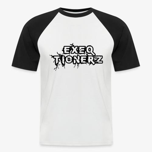 EXEQ LOGO - Camiseta béisbol manga corta hombre