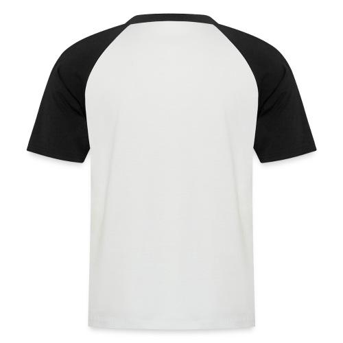 NOISEWALL WHITE LOGO - Maglia da baseball a manica corta da uomo