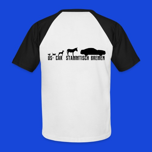 Evolution3 - Männer Baseball-T-Shirt