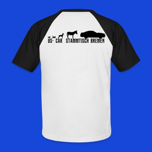 Evolution3 - Männer Baseball-T-Shirt