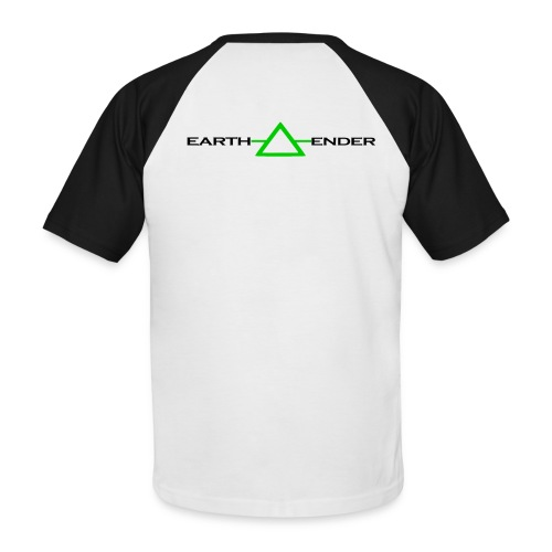 Earthender Pyramid - Männer Baseball-T-Shirt