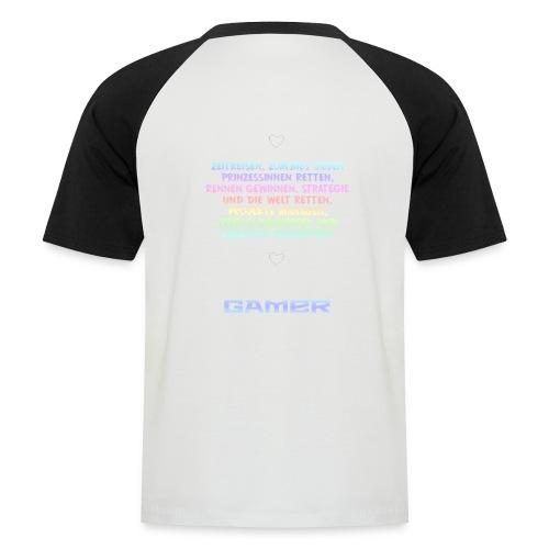 Meine Hobbys - Männer Baseball-T-Shirt