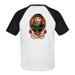 SEA CAPTAIN TATTOO - Men's Baseball T-Shirt