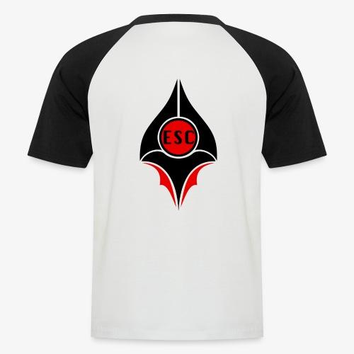 ESC | E-SPORT COMMUNITY - Männer Baseball-T-Shirt