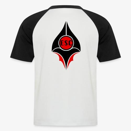 ESC   E-SPORT COMMUNITY - Männer Baseball-T-Shirt