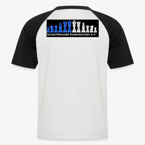 Schachfreunde Rodenkirchen Vereinshemd - Männer Baseball-T-Shirt