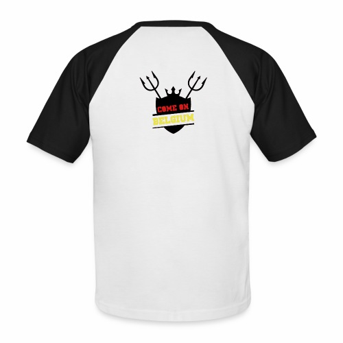 Come On Belgium - T-shirt baseball manches courtes Homme