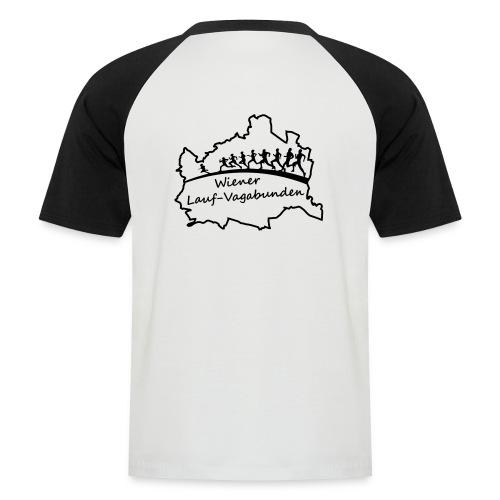 Laufvagabunden T Shirt - Männer Baseball-T-Shirt