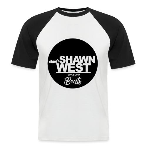 SHAWN WEST BUTTON - Männer Baseball-T-Shirt