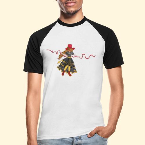 Ladybird - La célèbre uchronaute - T-shirt baseball manches courtes Homme