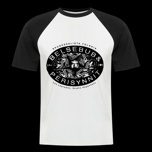 Belsebub&Perisynnit - Miesten lyhythihainen baseballpaita