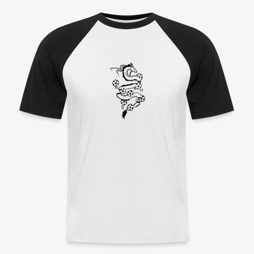 dragon - T-shirt baseball manches courtes Homme