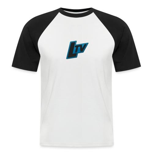Lundorff_tv - Kortærmet herre-baseballshirt