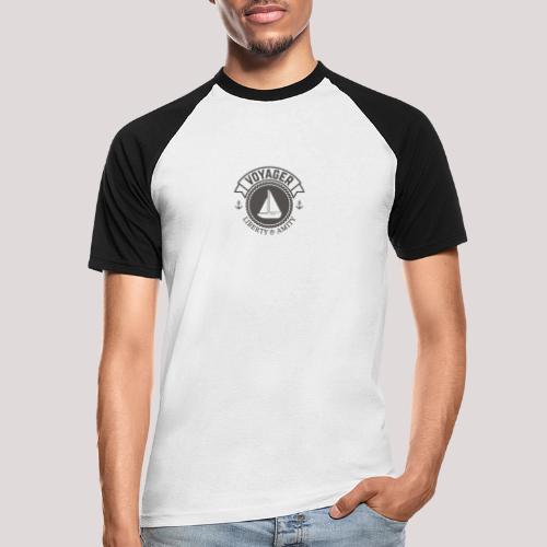 SegelbootVoyager - Männer Baseball-T-Shirt