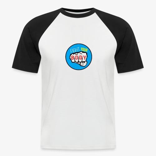 logo fyb bleu ciel - T-shirt baseball manches courtes Homme