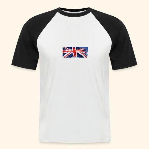 UK flag - Men's Baseball T-Shirt