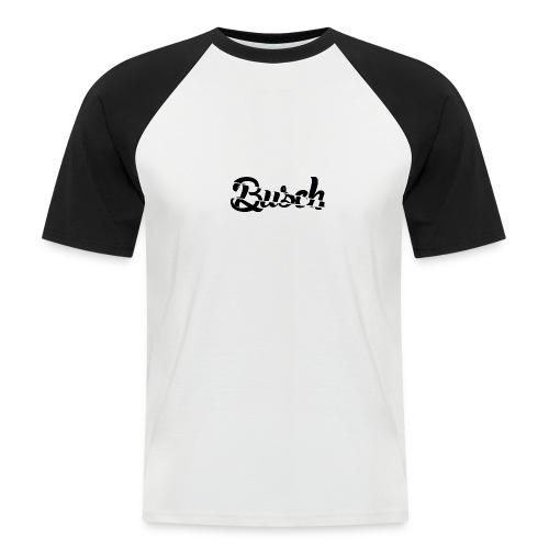 Busch shatter black - Mannen baseballshirt korte mouw